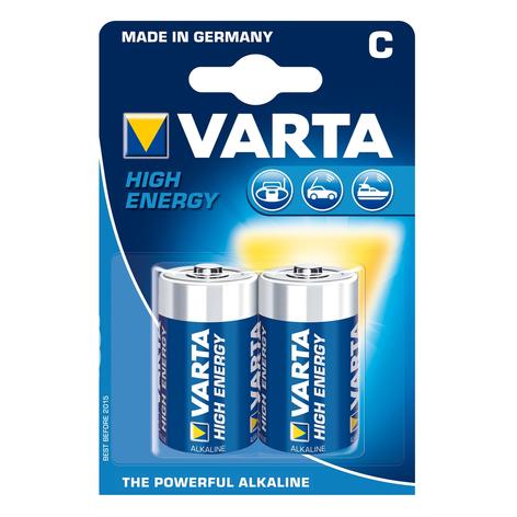 VARTA High Energy Batterier Baby 4914 - C
