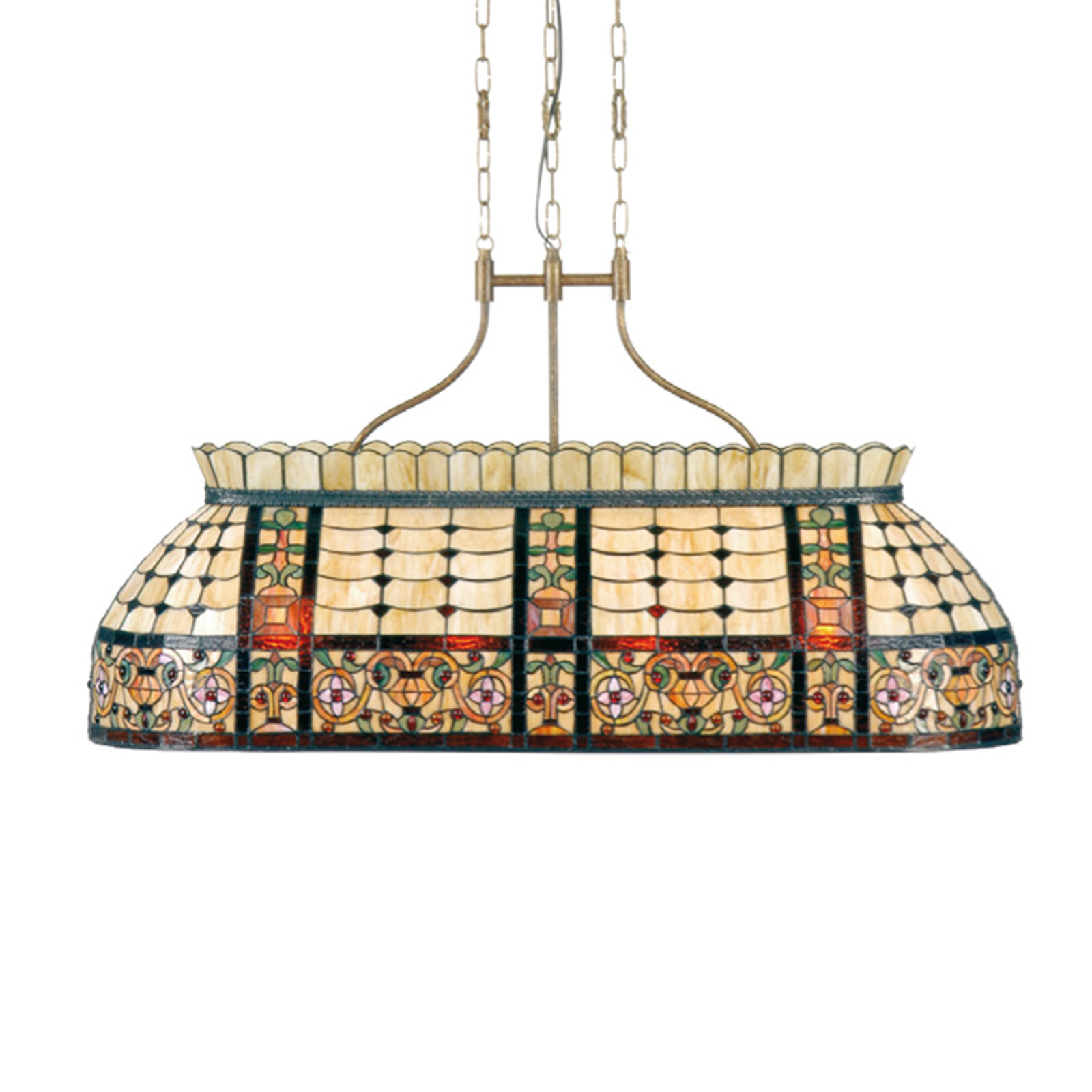 Niezwykła lampa wisząca Gani – styl Tiffany