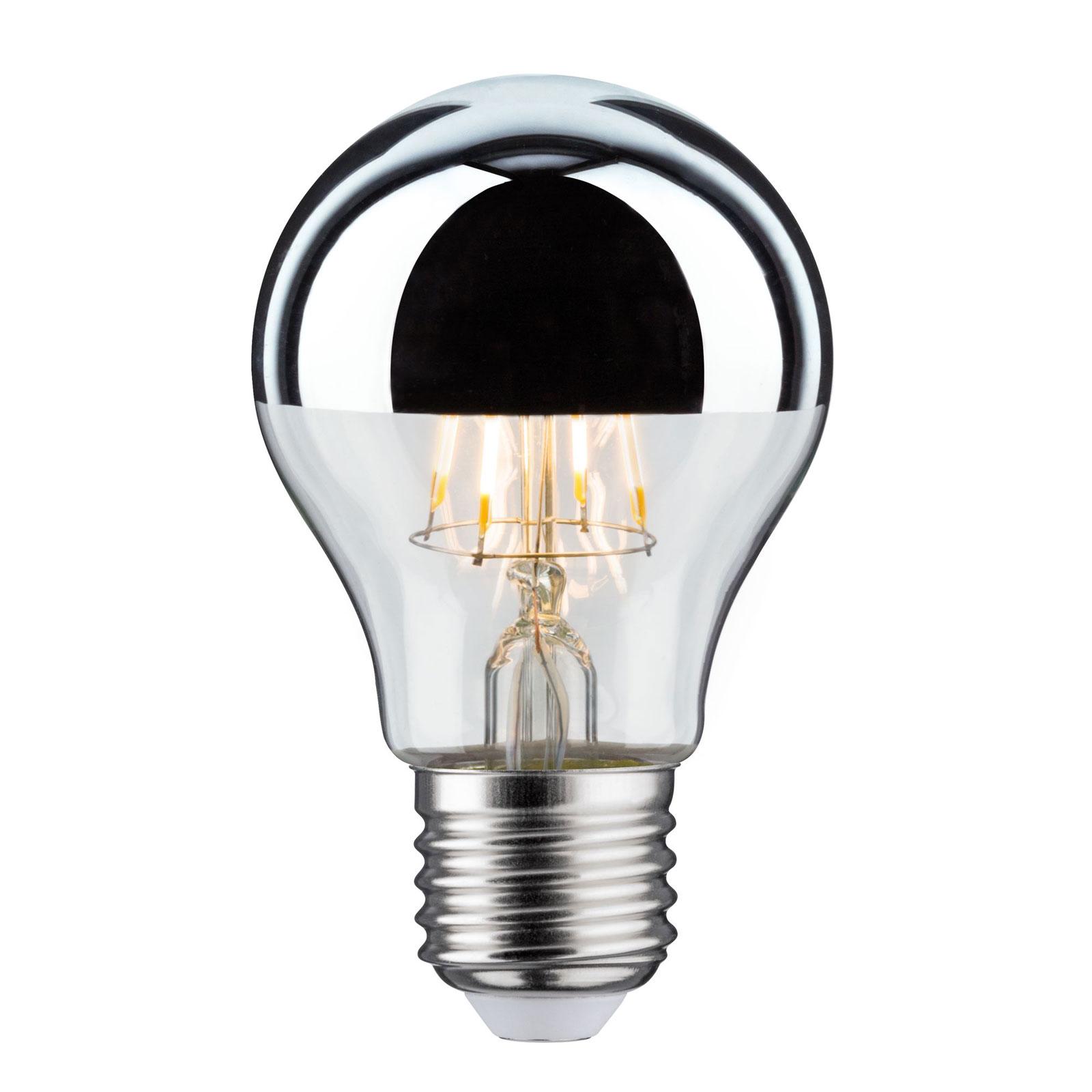LED-Lampe E27 Tropfen 827 Kopfspiegel 4,8W