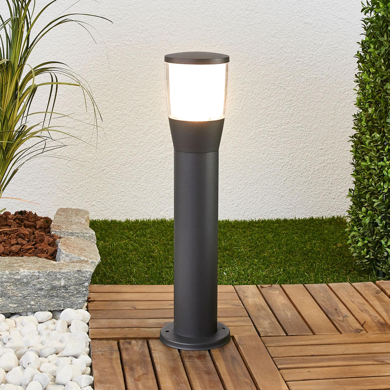LED-Sockelleuchte Melania aus Aluminium
