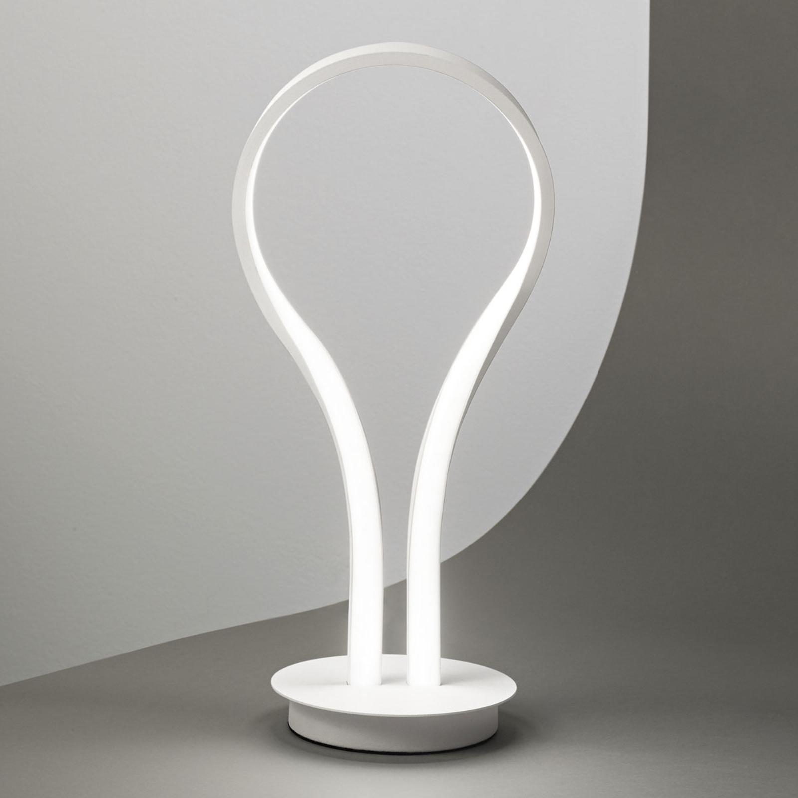 Lampa stołowa LED Blossom z aluminium