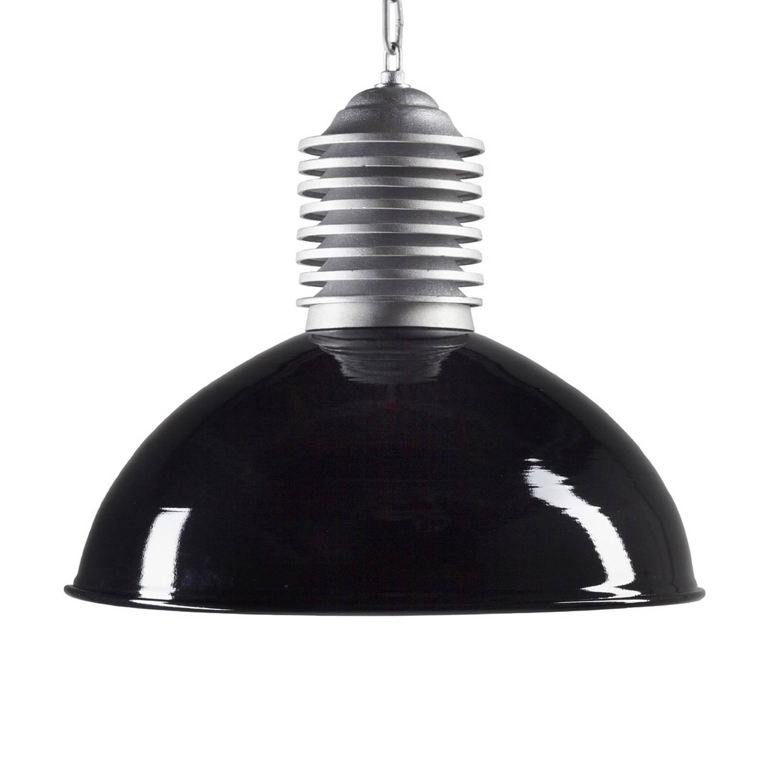 Lampa wisząca zewnętrzna Carla aluminium-czarny