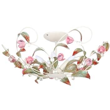 Plafondlamp Rose als kroonluchter, 5-lamps