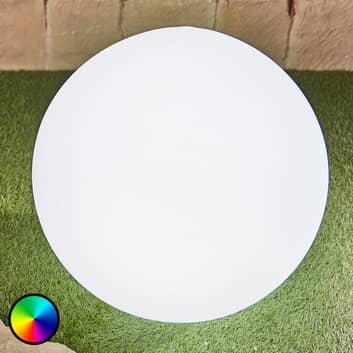 LED-Außen-Dekoleuchte Tomila, Kugel, USB, 60 cm