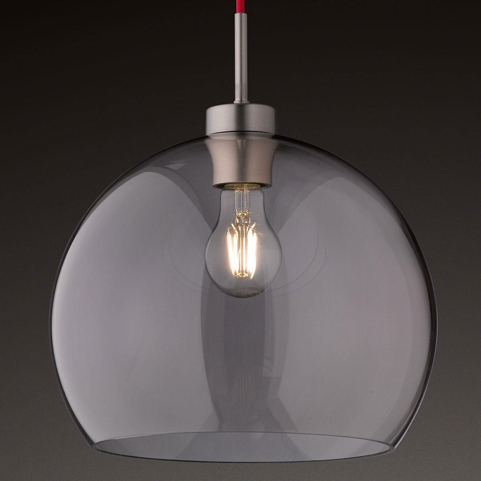 Szklana lampa wisząca Clear, 40 cm