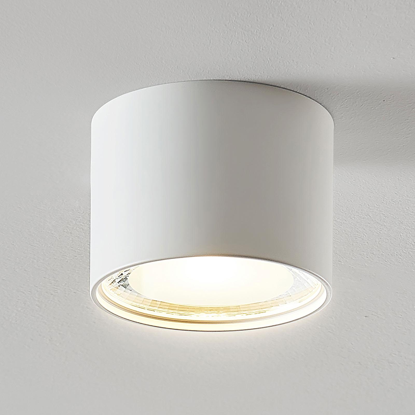LED-Downlight Meera, rund, weiß