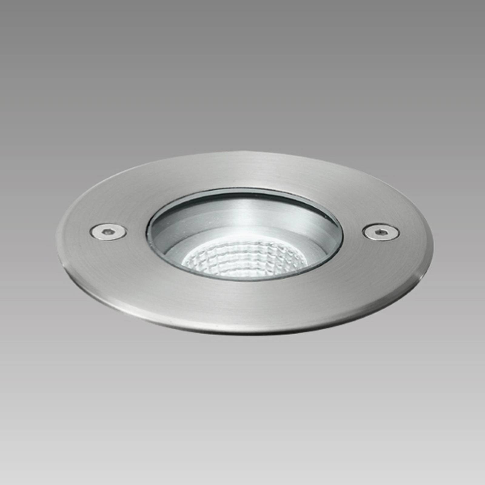 Roestvrijstalen-inbouwspot Frisco LED, IP67