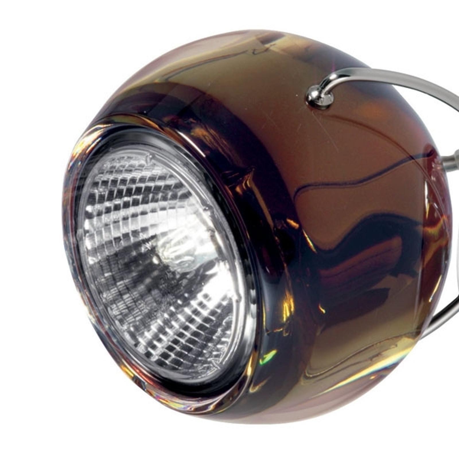 Designerska lampa wisząca BELUGA COLOUR miedź