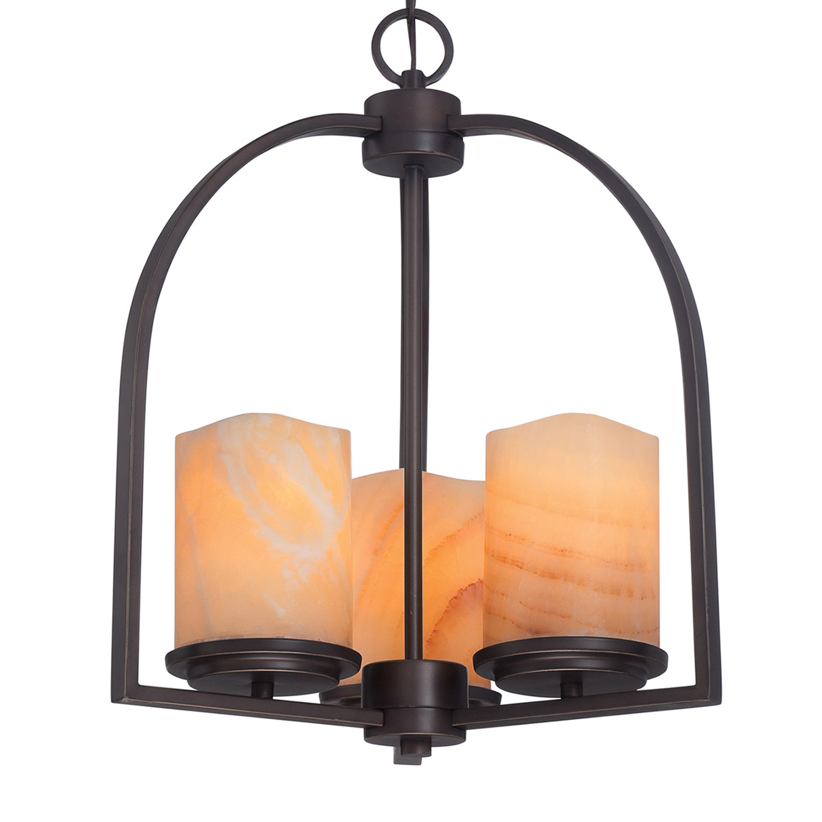 Lámpara de suspensión de tres luces Aldora