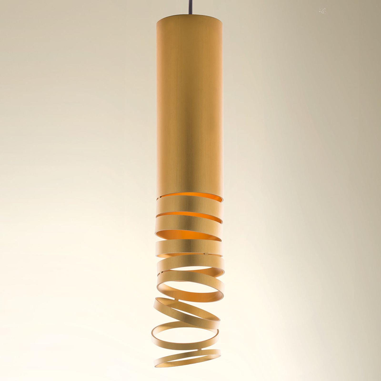 Artemide Decomposé závěsné světlo zlaté