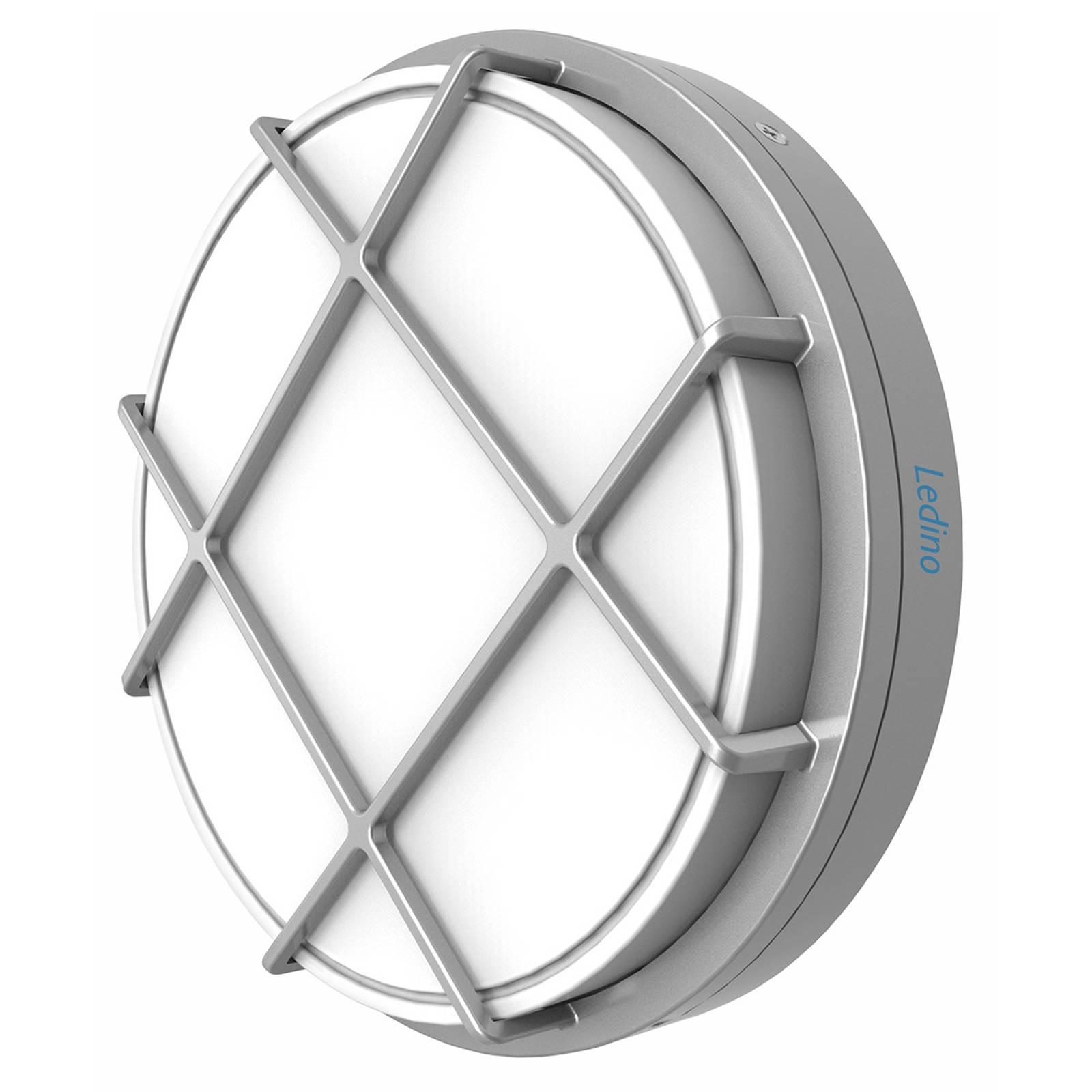 LED-Außenwandleuchte Eller mit IK10, rund