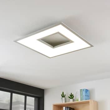 LED stropní svítidlo Durun, hranaté, 60 cm