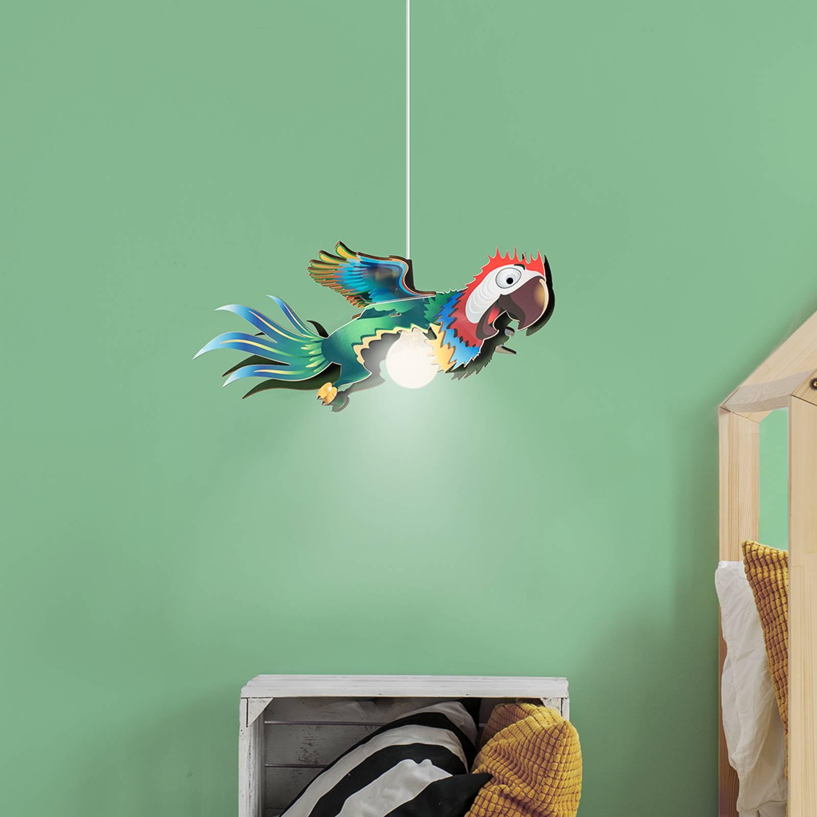 Hanglamp Papagei