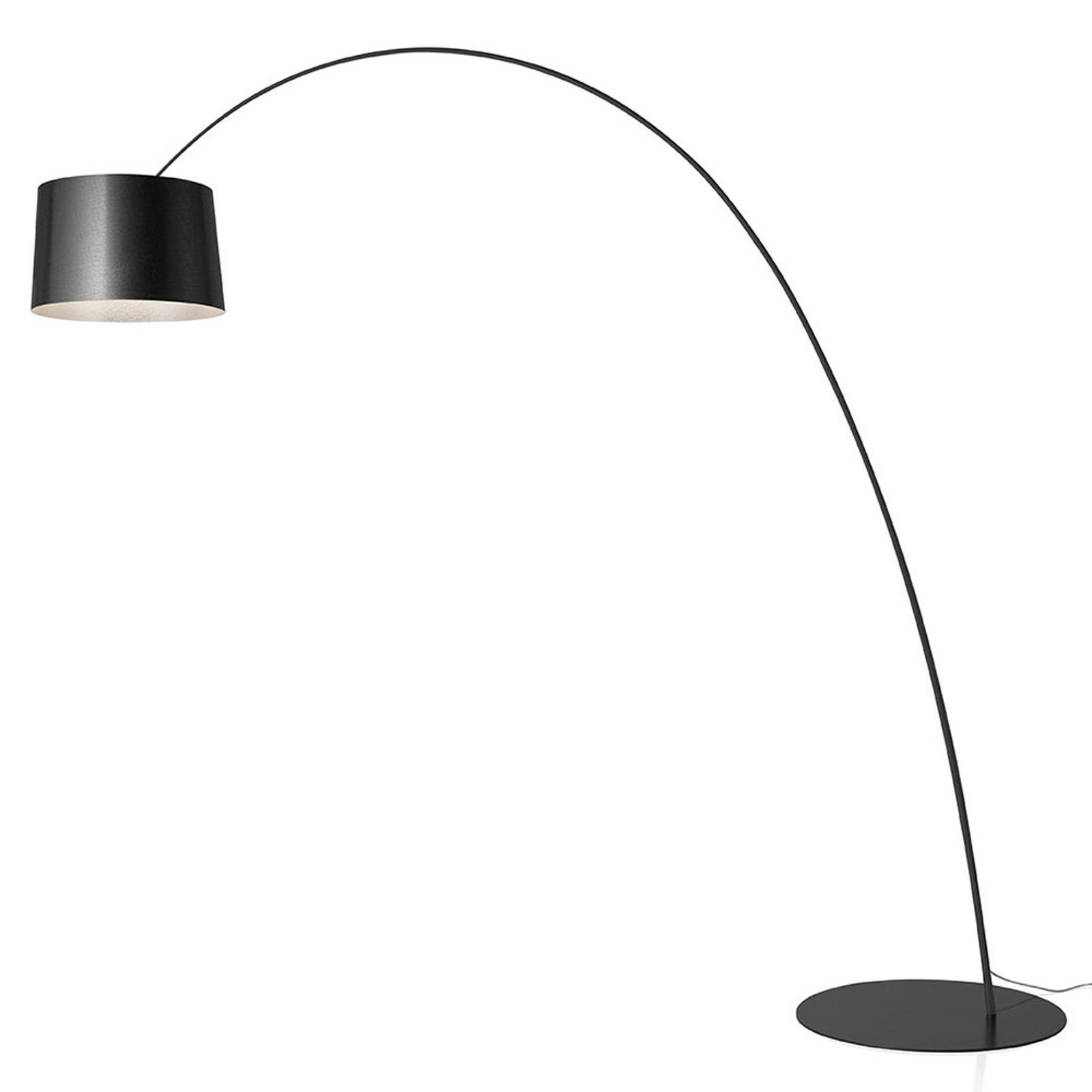 Foscarini Twiggy Elle LED-golvlampa grafit