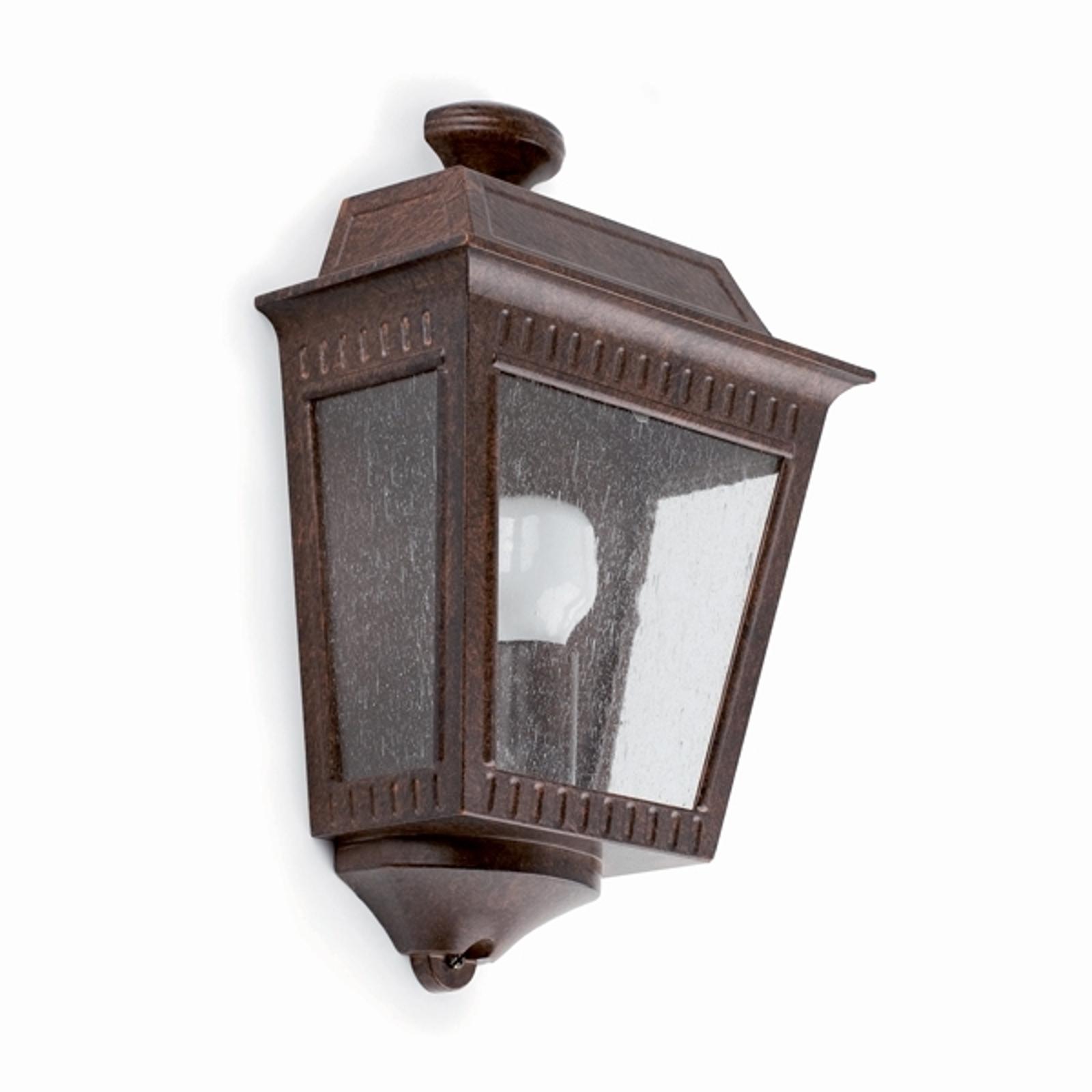 Rustykalna zewnętrzna lampa ścienna Argot