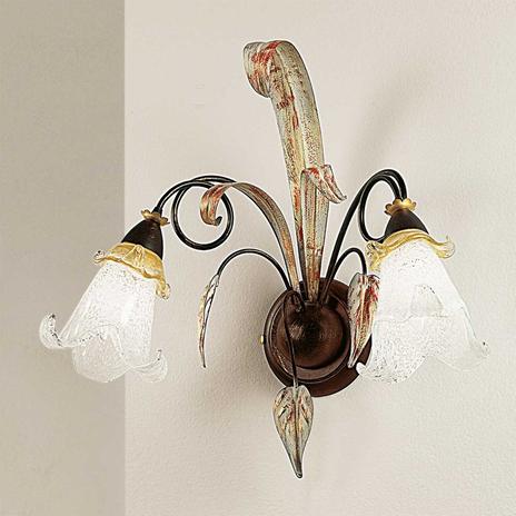 Florentyńska lampa ścienna Giuseppe