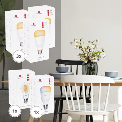 Yeelight Smart 5 ampoules LED dim/color/filament