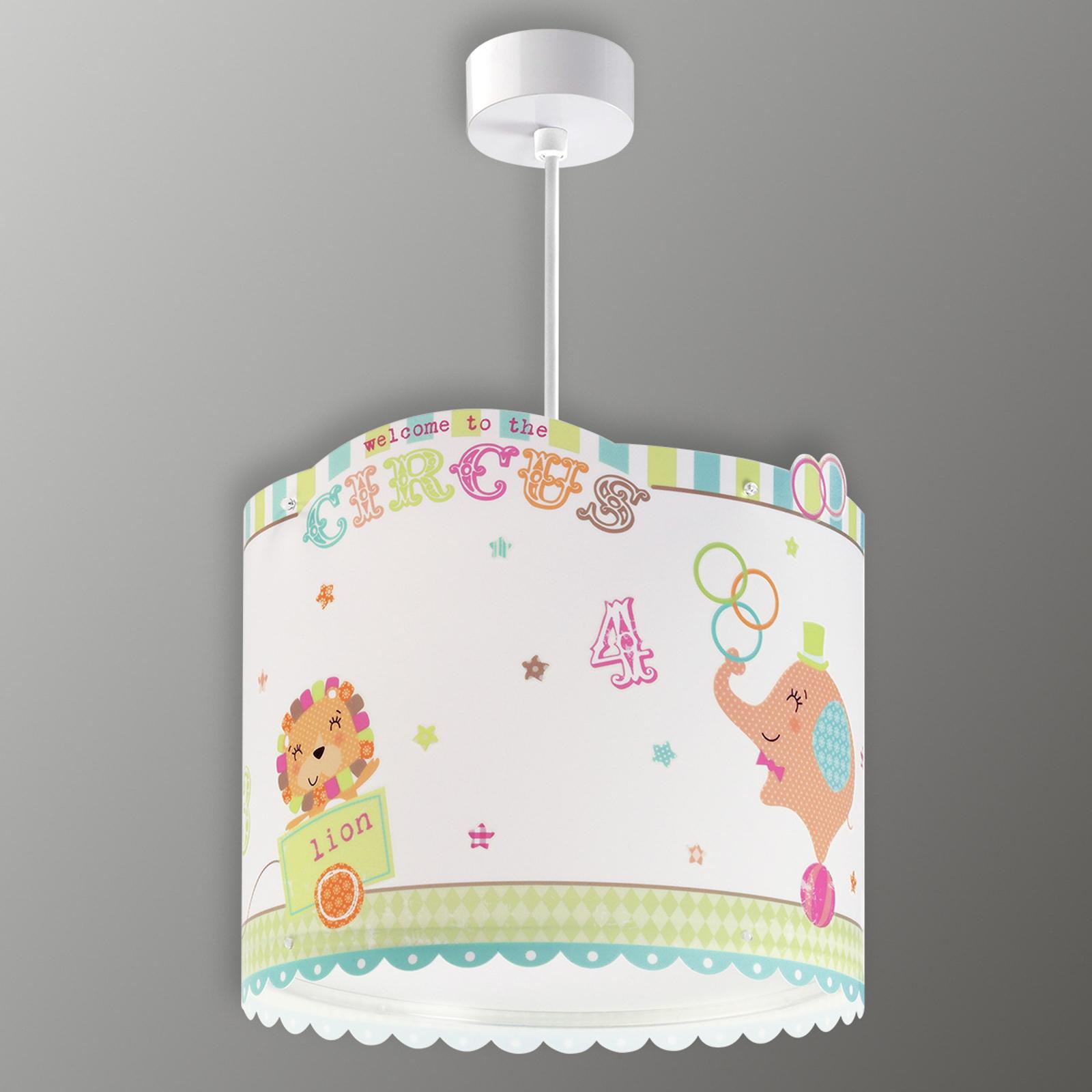 Circus - zabawna dziecięca lampa wisząca
