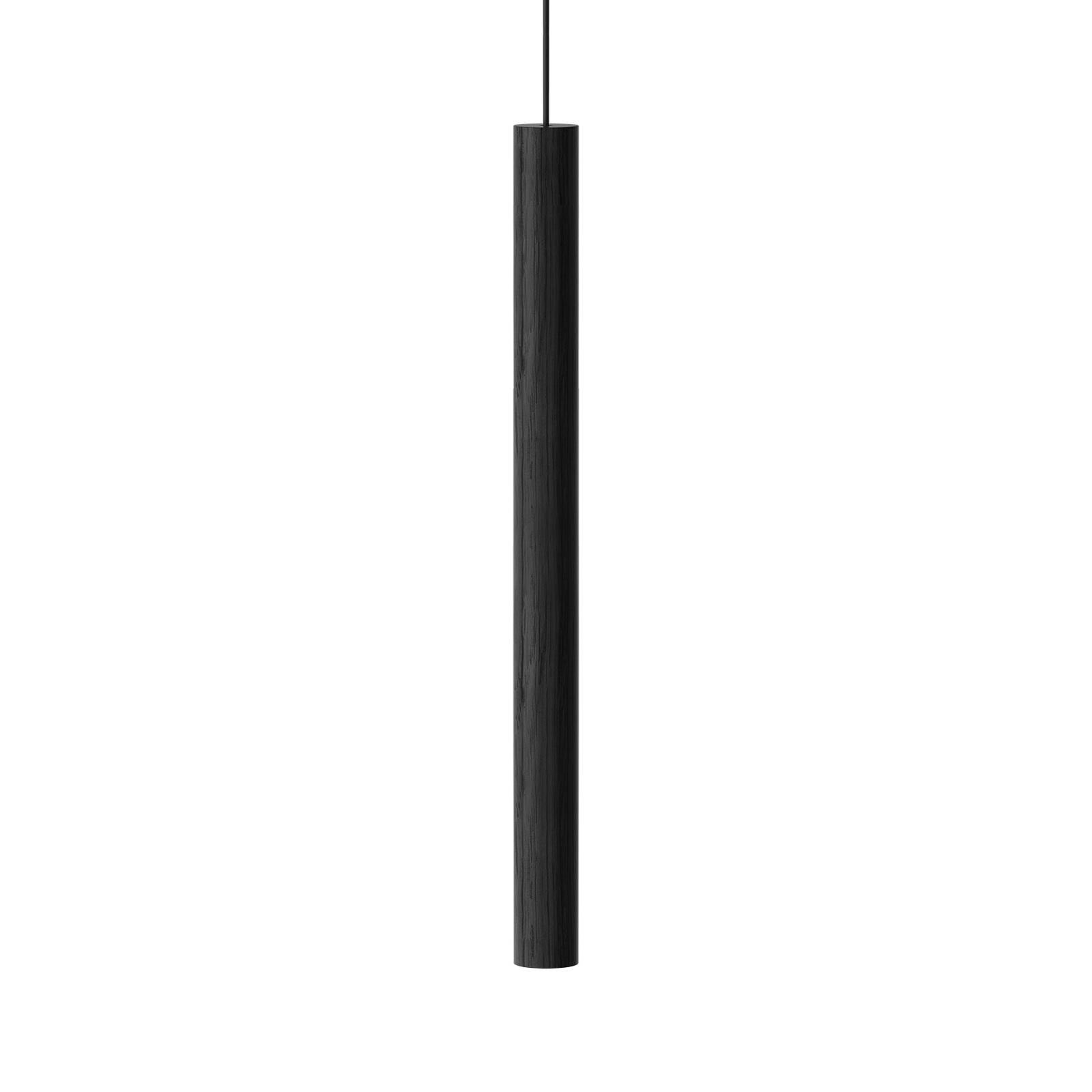 UMAGE Chimes Tall lámpara colgante LED roble negro