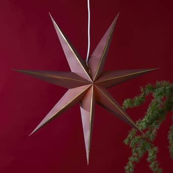 Stern Lysa aus Papier, Ø 60 cm