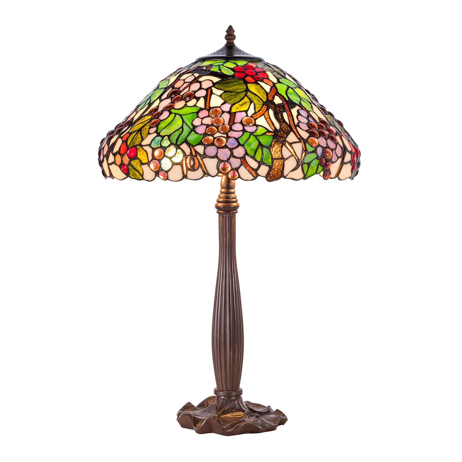 Tafellamp KT9810+P927 in Tiffany stijl