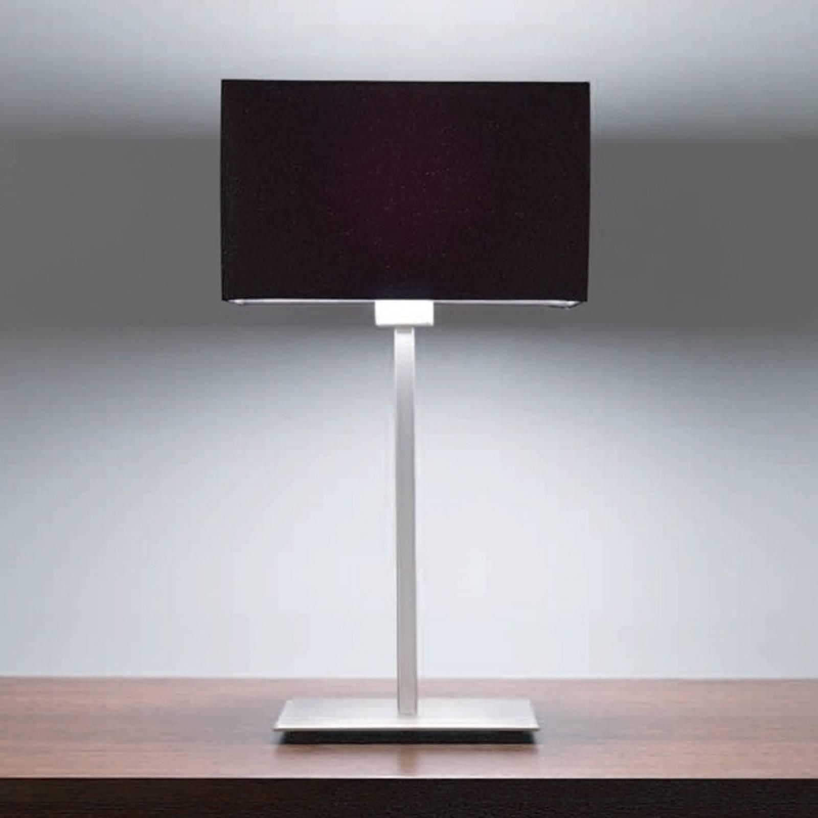 Astro Park Lane - lampe à poser nickel mat/noire