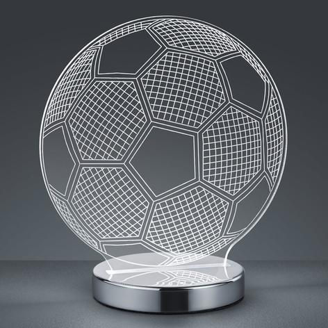 3D hologramová stolní lampa Ball - barva volitelná