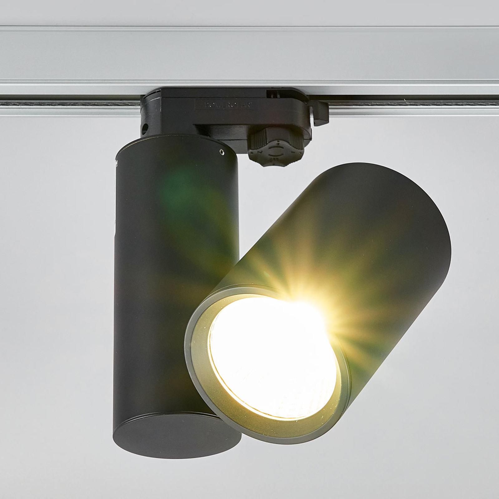 Giol - reflektor LED do systemu szynowego, czarny