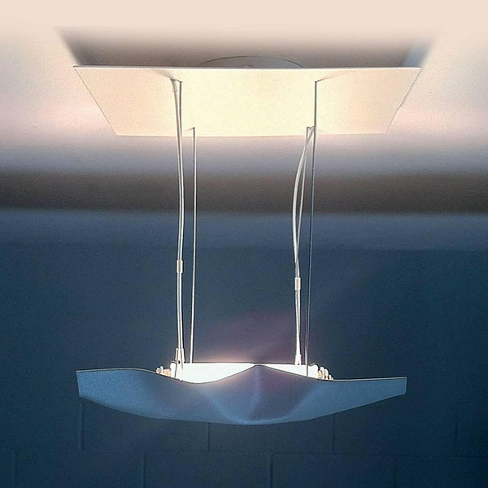 Knikerboker Piccola Crash LED plafondlamp wit