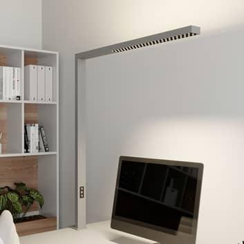 Arcchio Jolinda LED-klämlampa för kontoret, silver