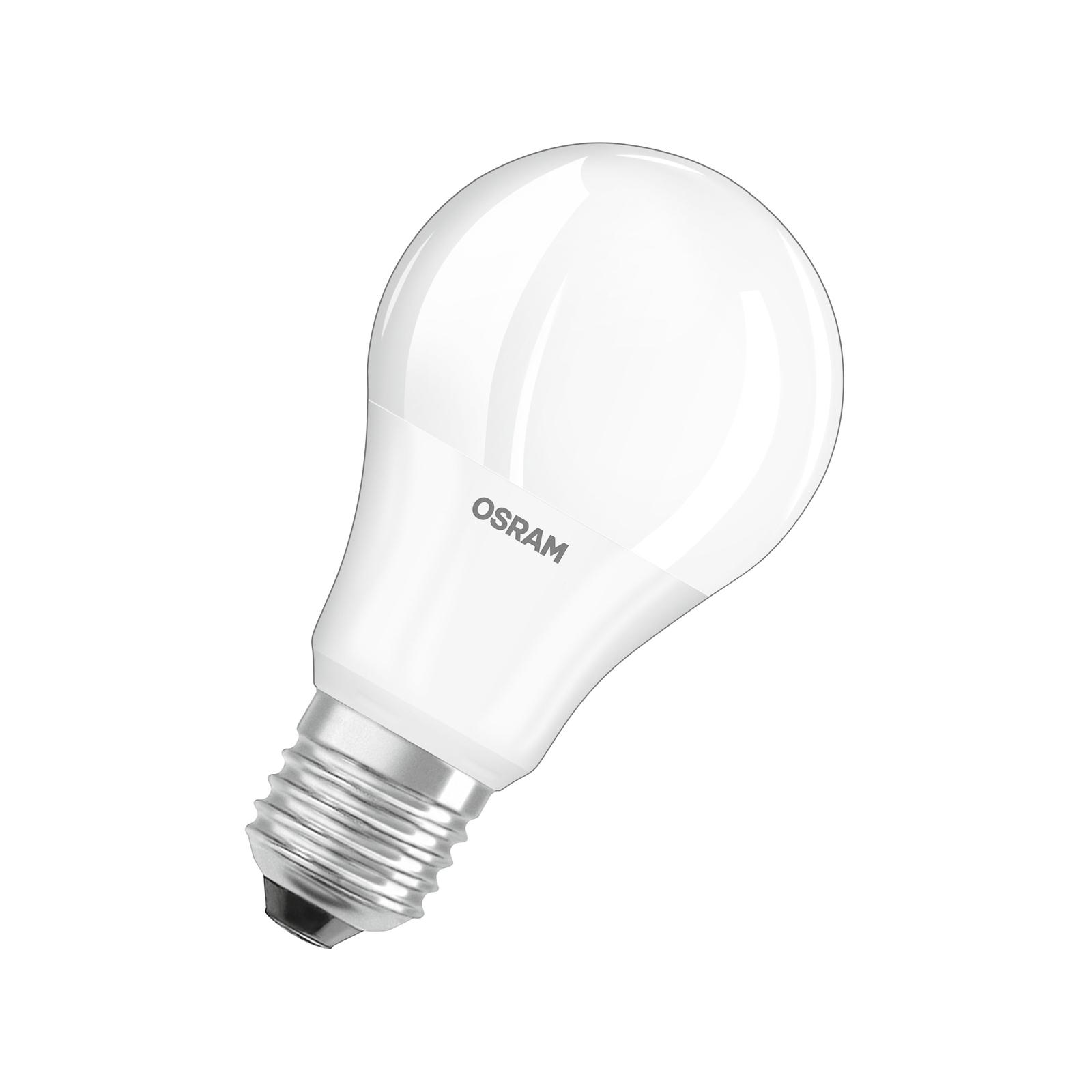 OSRAM LED-Lampe E27 Base CL A 10W 4.000K matt 3er