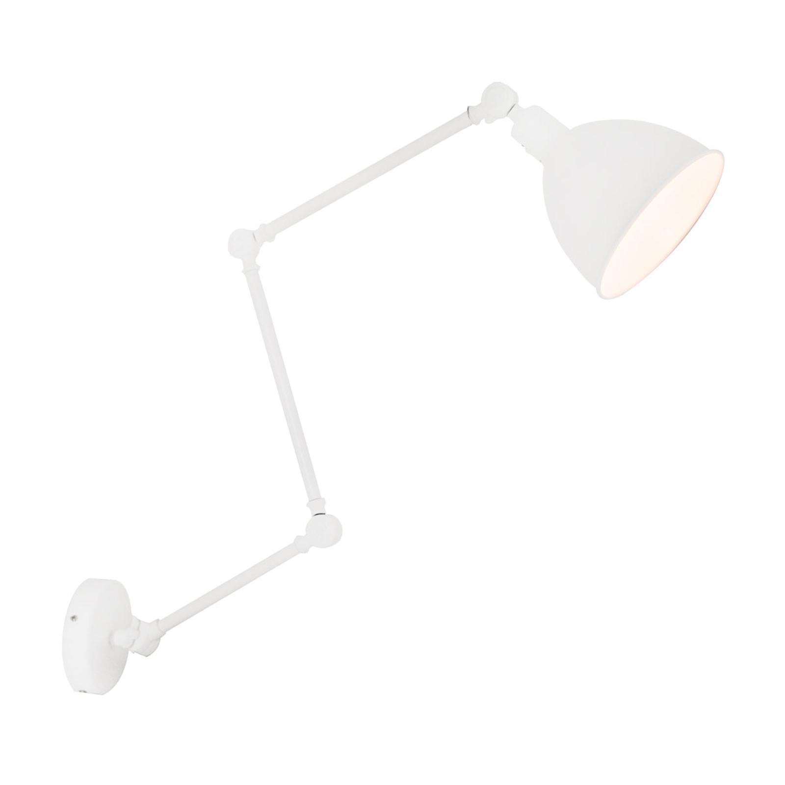 By Rydéns Bazar wandlamp met stekker, zandwit