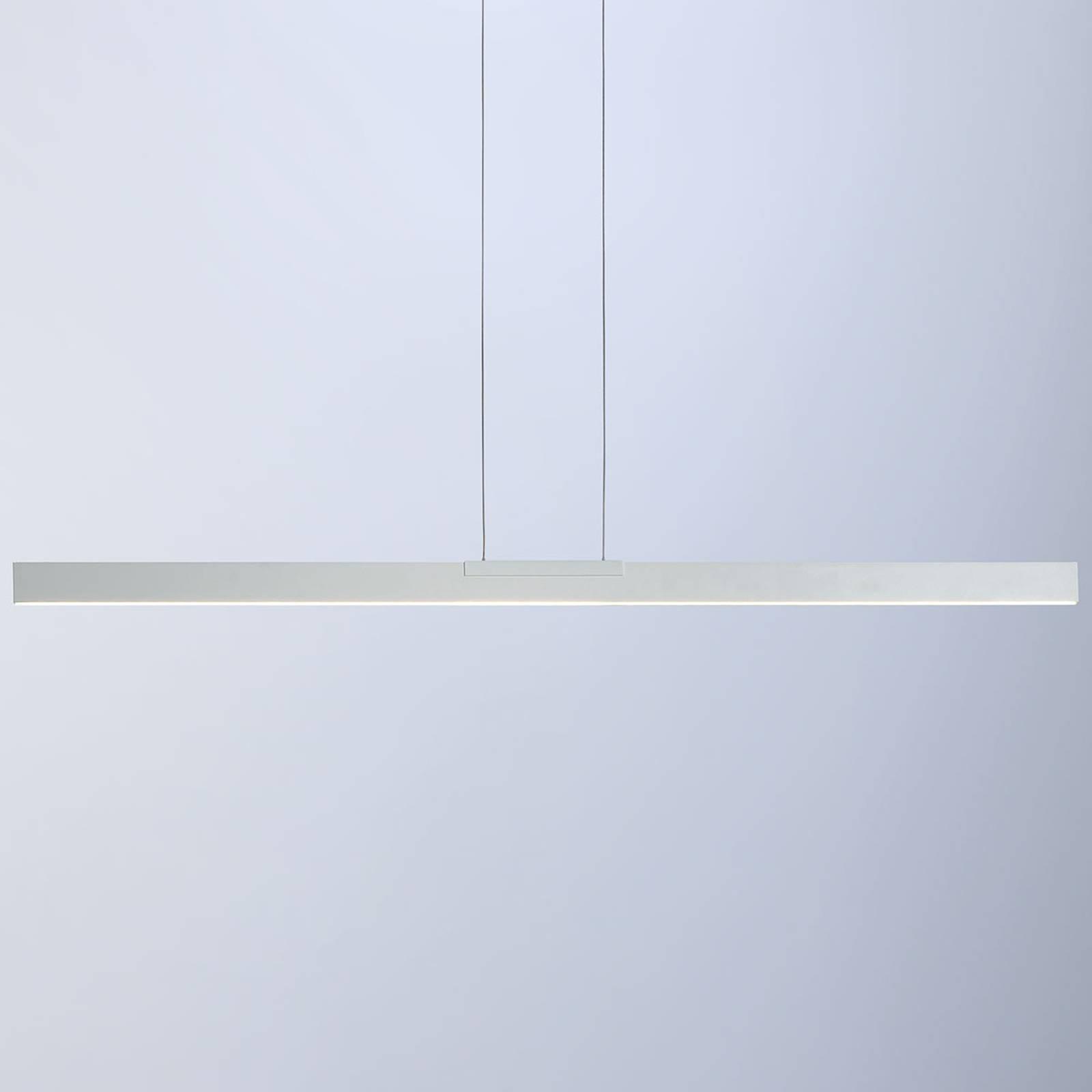 Bopp Nano - lampa wisząca LED, biała 140cm
