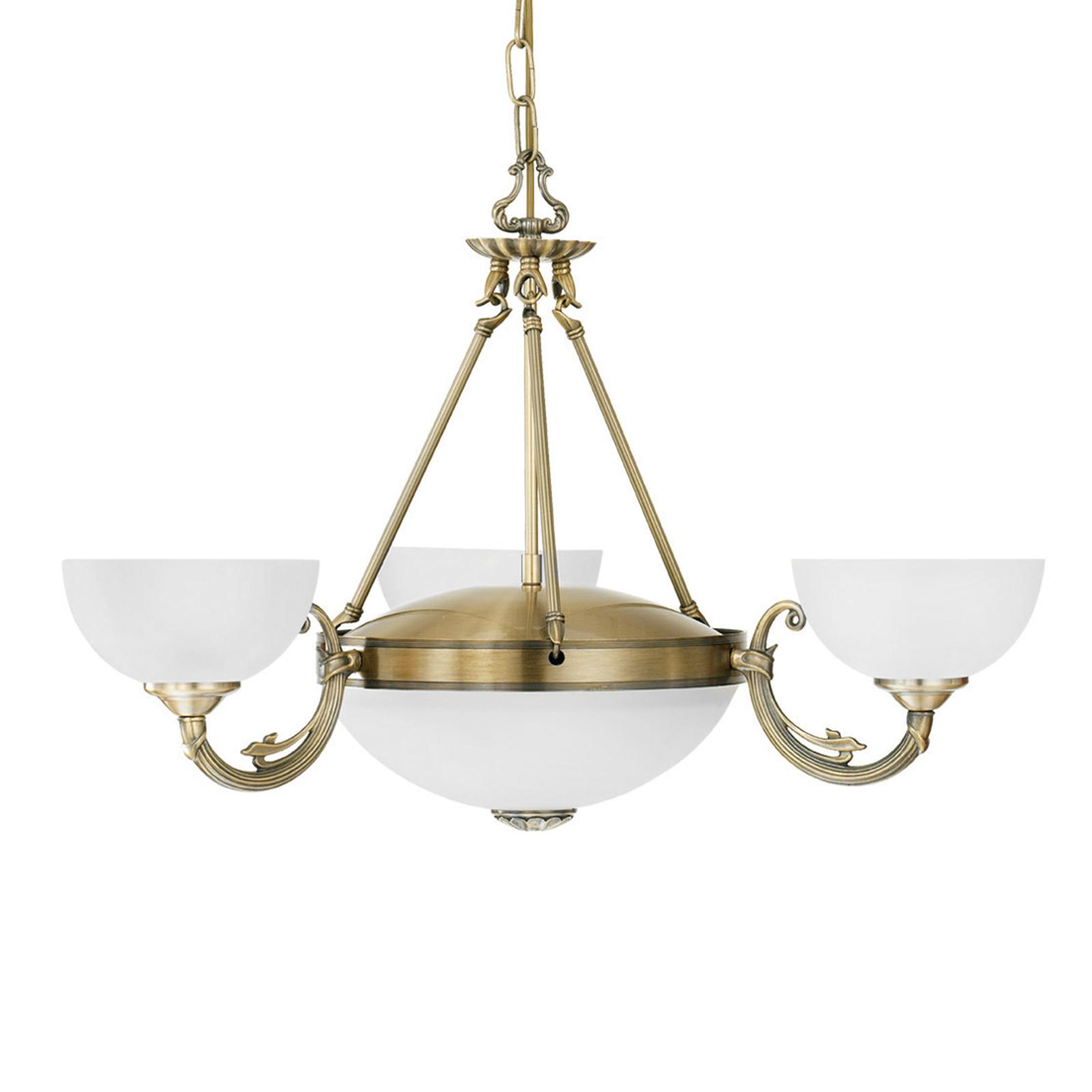 Lámpara colgante Savy, 5 luces