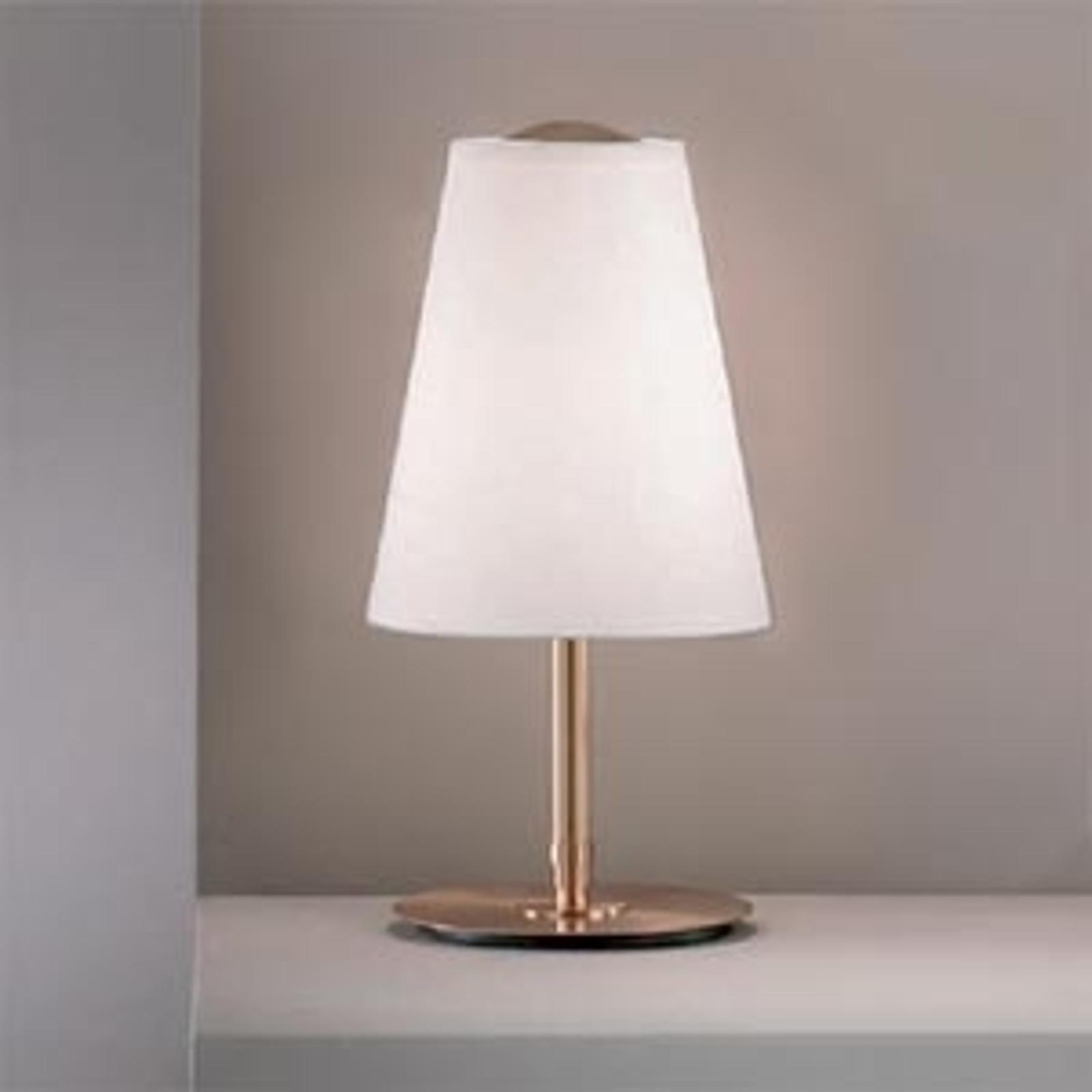Tafellamp Clemo hoogte 38 cm goud