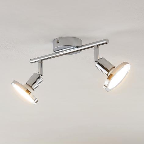 Lindby Ayden LED stropní světlo, dvoužárovkové