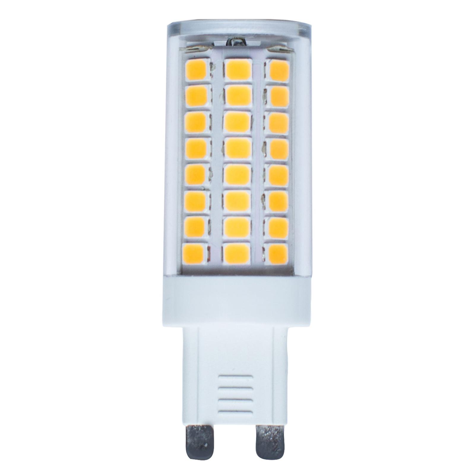 Ampoule à broche LED G9 4,8W 2800K 600lm
