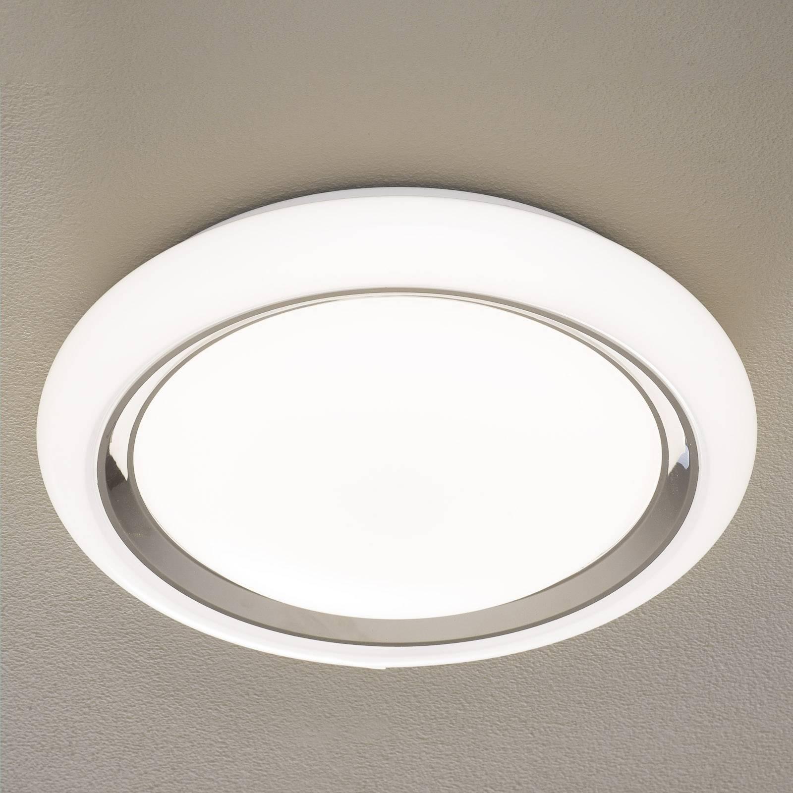 EGLO connect Capasso-C LED plafondlamp wit-chroom