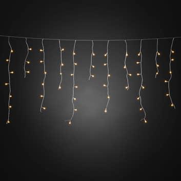 LED lichtgordijn IJsregen, via app bedienbaar