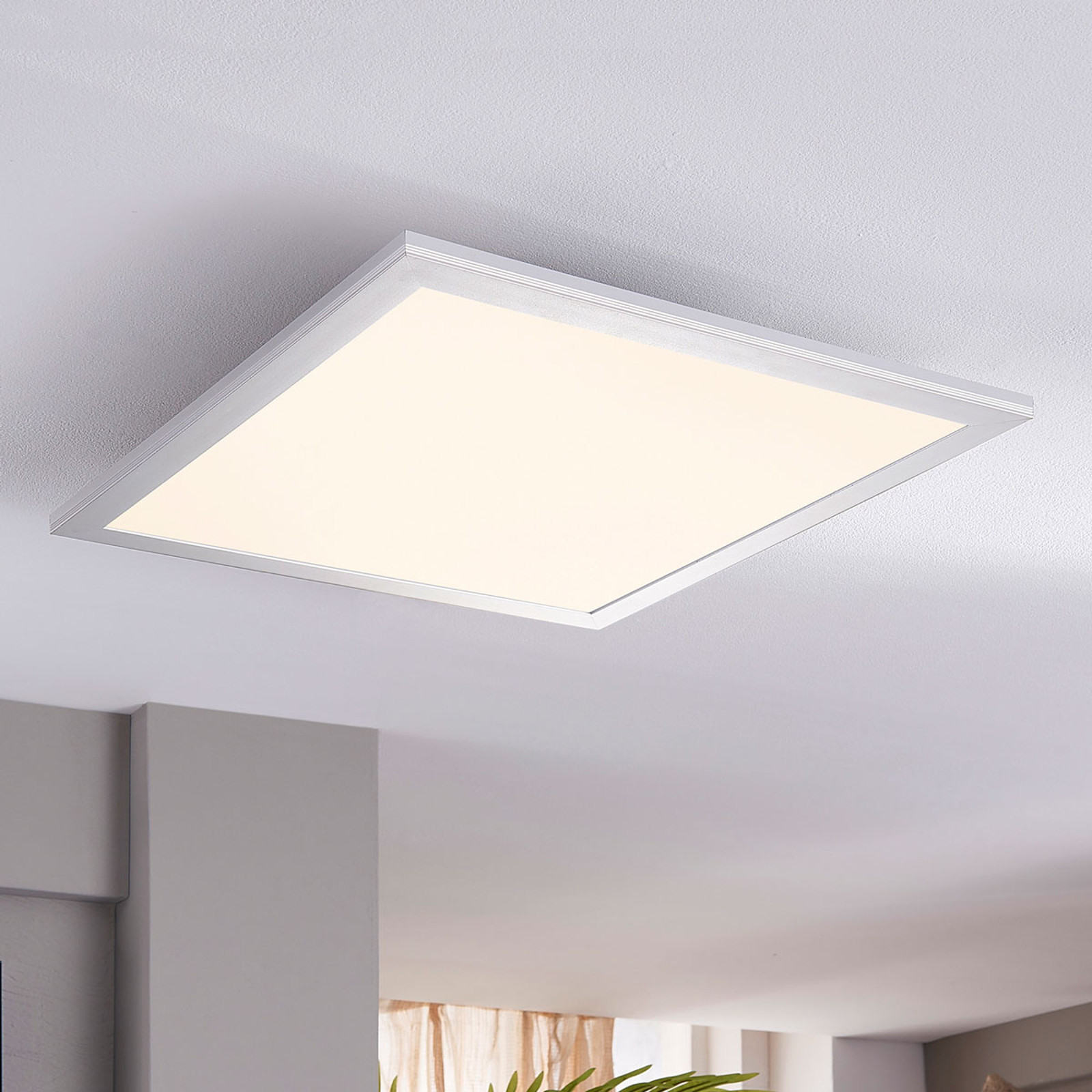 Lindby Livel LED-Panel, 4.000K, 40 cm x 40 cm