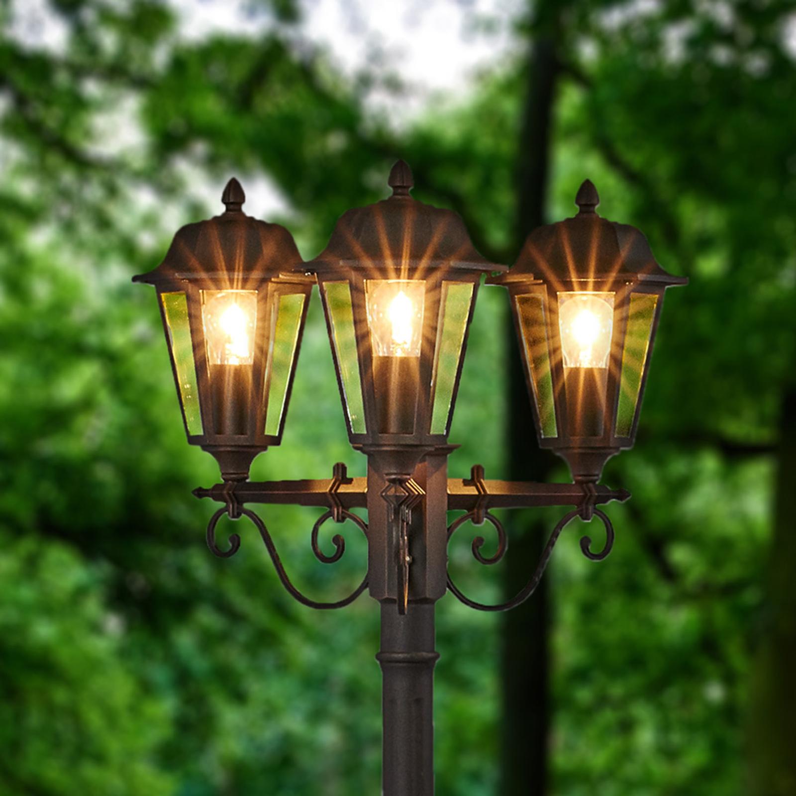 Candélabre élégant Lamina à 3 lampes