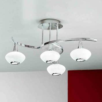 Intressant taklampa LURANA med 4 ljuskällor