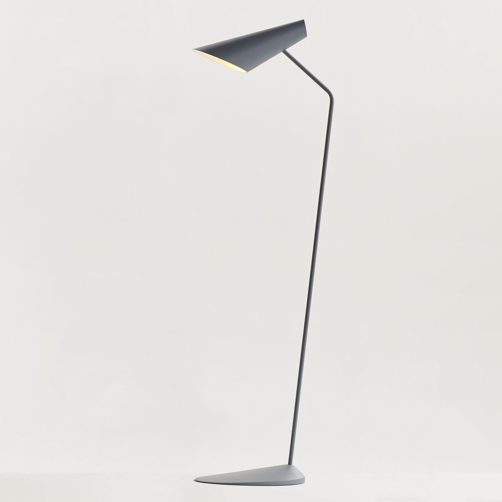 Billede af Vibia I.Cono 0712 designer-standerlampe, blå