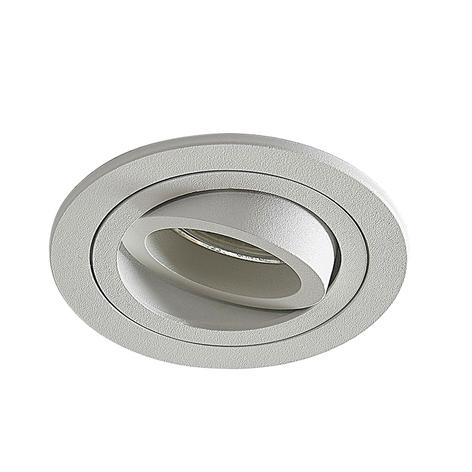 Podhledové svítidlo Enne s kulatým tvarem, bílé