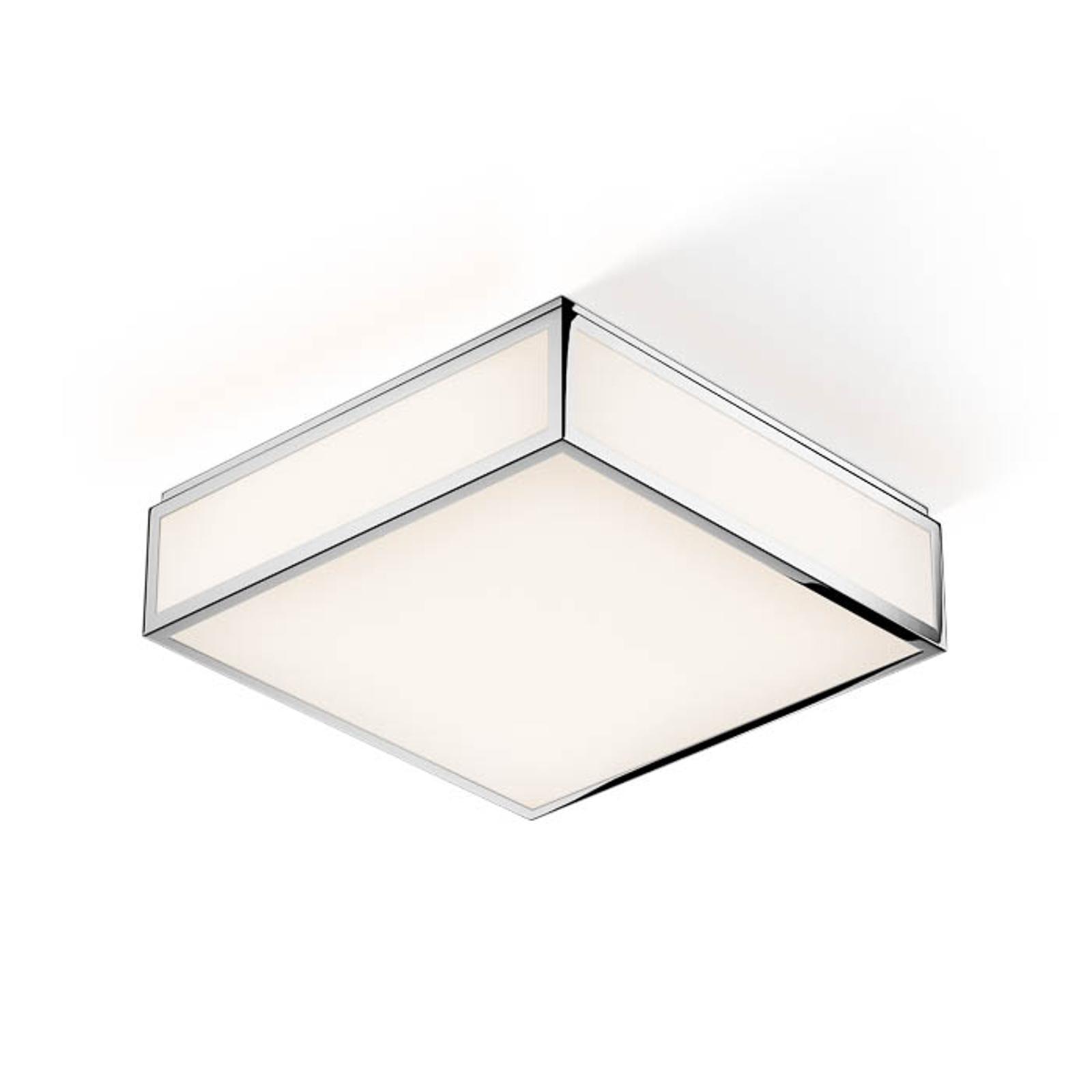 Decor Walther Bauhaus 3 N LED-Deckenleuchte chrom