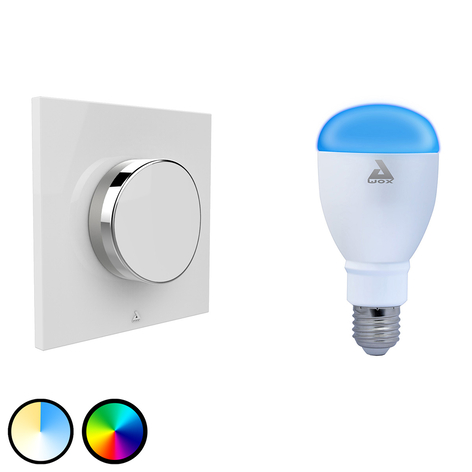 AwoX SmartLIGHT Color LED-Lampe E27 + SmartPEPPLE