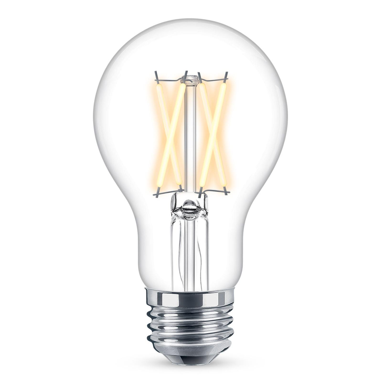 WiZ E27 LED A60 filament transp. 6,5W 2200-5500K