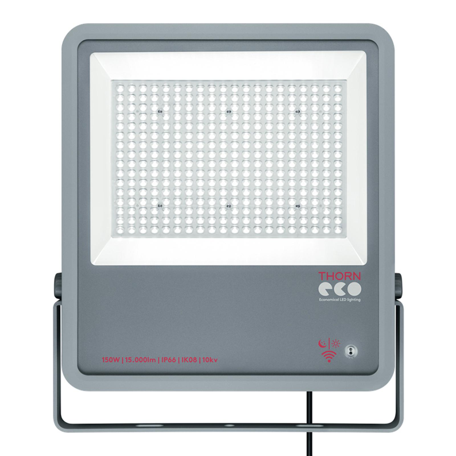 Thorn Leo LED-Strahler IP66 150W PC 3.000 K