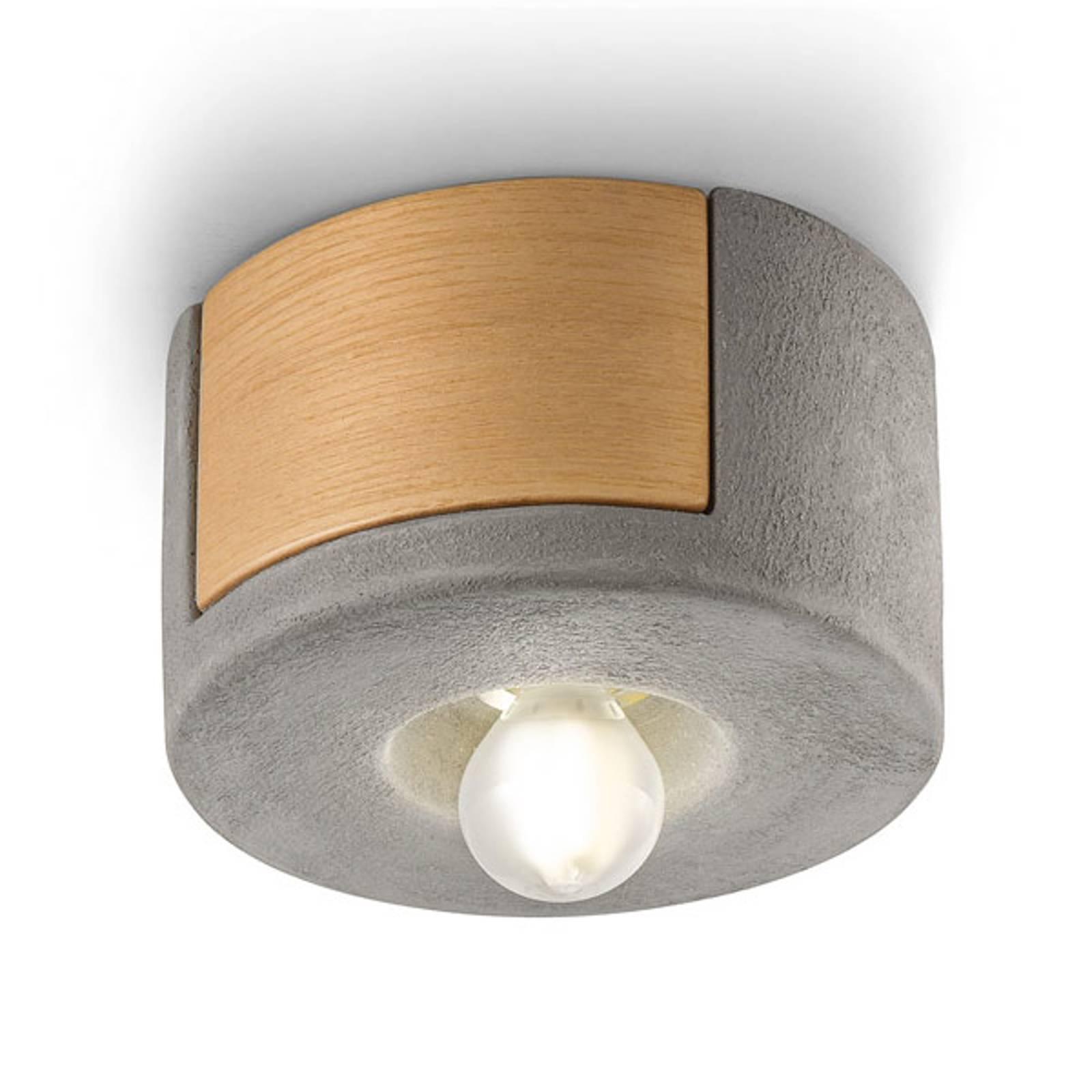 Plafondlamp C1791 in Scandinavische stijl cement