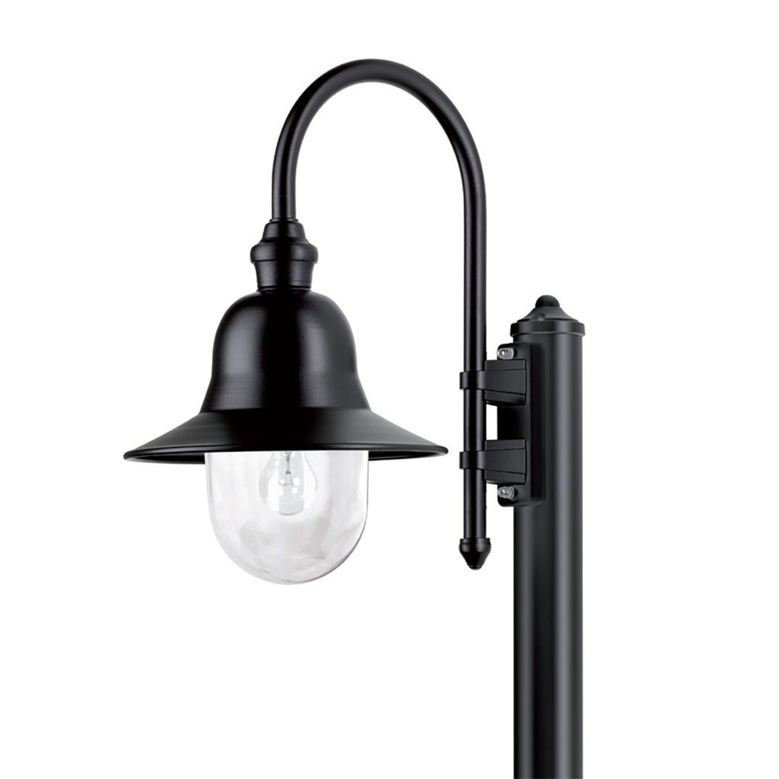 Duurzame padlamp Nios zwart